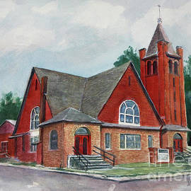 Janet Felts - Erin Methodist Church 1899