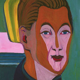 Ernst Ludwig Kirchner Self Portrait 1925 by Ernst Ludwig Kirchner