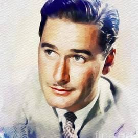 John Springfield - Errol Flynn, Vintage Movie Star