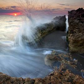 Eruption at Dawn by Mike  Dawson