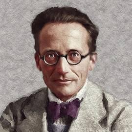 Erwin Schrodinger, Famous Scientist - John Springfield