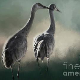 Janice Rae Pariza - Escalante Sandhill Cranes