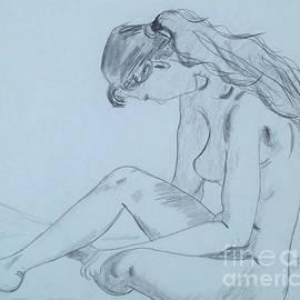 Lise PICHE - Etude de femme nue