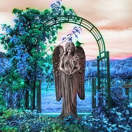 Debra and Dave Vanderlaan - Evening Angel in the Garden