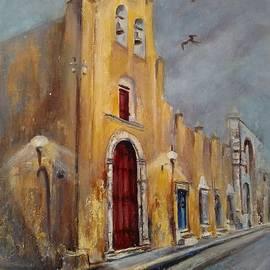 Paula Noblitt - Evening at Iglesia de San Roque Church