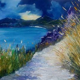 Conor Murphy - Evening at Keem Bay Co Mayo