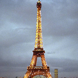Evening at the Eiffel Tower by Mike McGlothlen