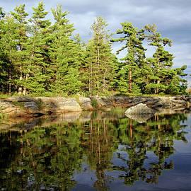 Evening Calm Franklin Island by Debbie Oppermann
