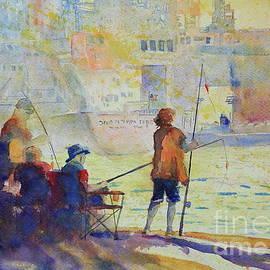 Marsha Reeves - Evening Fishing at Port A