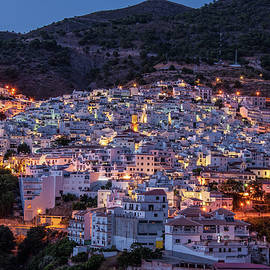 Evening In Competa by Geoff Smith