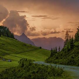 Nailia Schwarz - Evening in the Alps