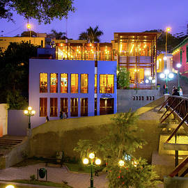 Evening in the Barranco District, Lima Peru by Amy Sorvillo