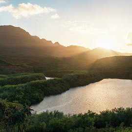 Evening Light In Kauai by James Udall