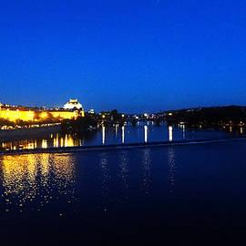 C H Apperson - Evening on the Vltava