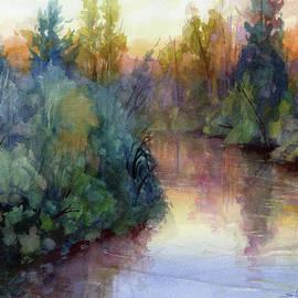 Evening on the Willamette by Steve Henderson