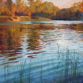 Lynda Robinson - Evening Reflections, Goulburn River