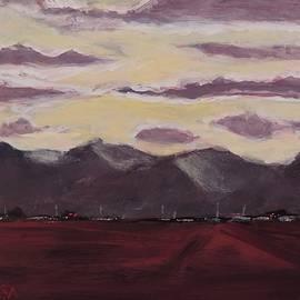 Evening Shadows - Art by Bill Tomsa by Bill Tomsa