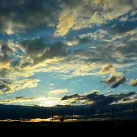 Karen Majkrzak - Evening Sky at the Airport