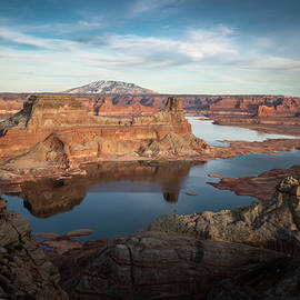 Evening View of Lake Powell - James Udall