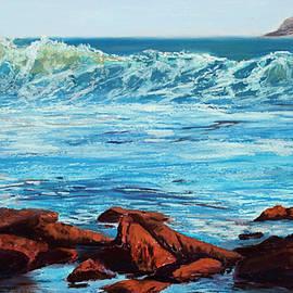 Mary Benke - Evening Waves