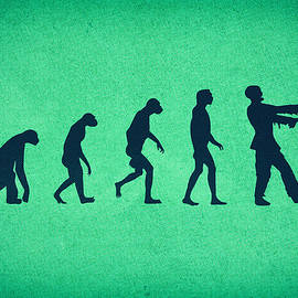 Evolution of Zombies Zombie Walking Dead by Philipp Rietz
