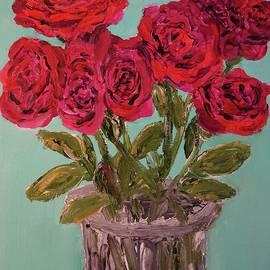 Evolving Crimson Roses