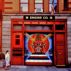 Mark Victors - EW-NYC Fire Engine Entrance