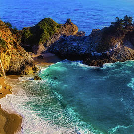 Exotic Big Sur Waterfall - Garry Gay