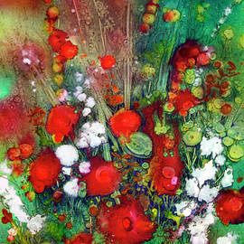Explosion in Red by Shirley Sykes Bracken