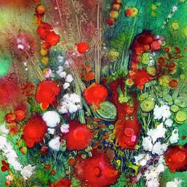 Shirley Sykes Bracken - Explosion in Red