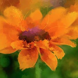 Terry Davis - Expressive Sunflower