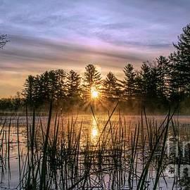 Jan Mulherin - Exquisite Sunrise on the Androscoggin River 2
