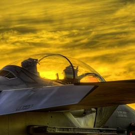 JC Findley - F-15E Sunset