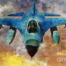 Ian Mitchell - F16 Falcon