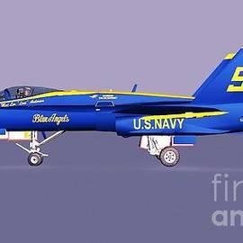 F18 Super Hornet by Stanley Morganstein
