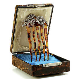 Faberge Diamond Comb