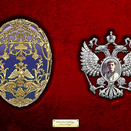 Faberge Tsarevich Egg With Surprise