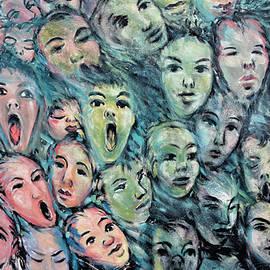 Joachim G Pinkawa - Faces Streetart Berlin