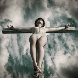 Ramon Martinez - Faded crucifix in the sky V