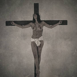 Ramon Martinez - Faded old female crucifix