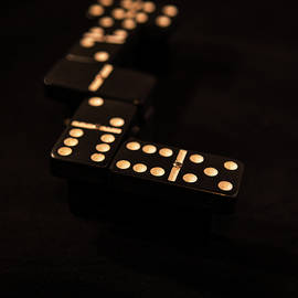 Fading Dominos by Jeff Kurtz