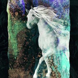Fair Beauty-Magical horse by Grace Iradian