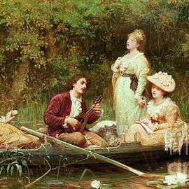 Fair, quiet and sweet rest - Samuel Luke Fildes