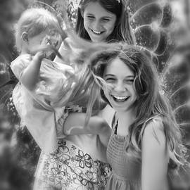 Fairies At Play by Diana Haronis