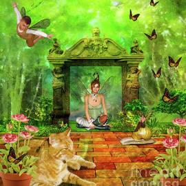 KaFra Art - Fairies In The Garden