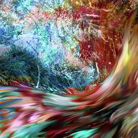 Abstract Angel Artist Stephen K - Fairy Tale Stream Surreal