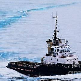 Faithful Tugboat Bermuda by Marcus Dagan