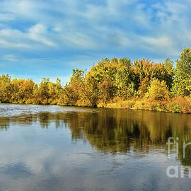 Fall Color Along the Payette River by Robert Bales