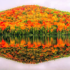 Dan Sproul - Fall Color Reflection On Stiles Pond