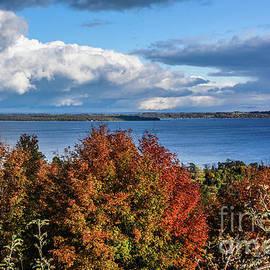 Grace Grogan - Fall Colors and Grand Traverse Bay
